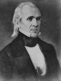 James Polk 1849
